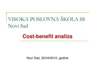 VISOKA POSLOVNA �KOLA SS Novi Sad