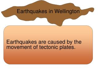 Earthquakes in Wellington