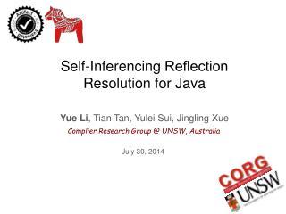 Yue Li ,  Tian  Tan,  Yulei  Sui, Jingling  Xue