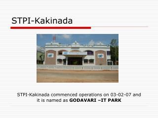 STPI-Kakinada
