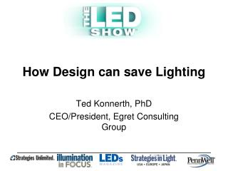 How Design can save Lighting