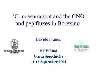 11 C measurement and the CNO and pep fluxes in Borexino