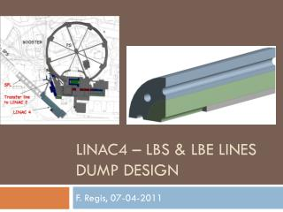 LINAC4 – LBS & LBE  Lines  dump design