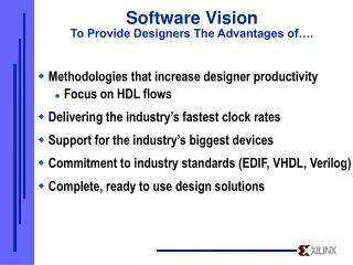Software Vision To Provide Designers The Advantages of….