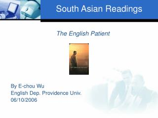 South Asian Readings