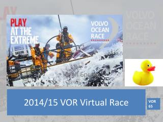 2014 /15 VOR Virtual  Race