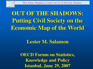 The Johns Hopkins Center for Civil Society Studies