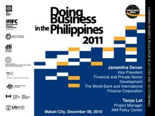 Makati City, December 08, 2010