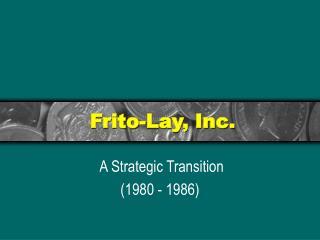 Frito-Lay, Inc.