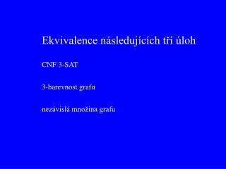 CNF 3-SAT