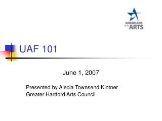 UAF 101