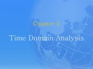 Chapter 2 Time Domain Analysis