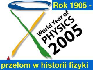 2005 Swiatowy            Rok Fizyki