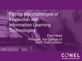 Facing the challenges of Inspection with Information Learning Technologies