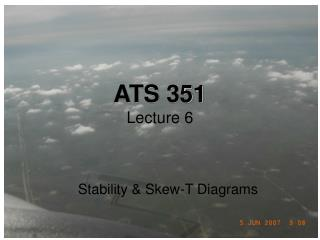 ATS 351 Lecture 6