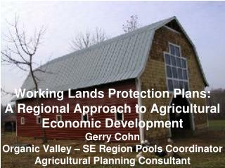 Working Lands Protection Plans