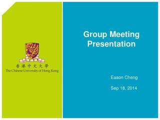 Eason Cheng Sep 18, 2014