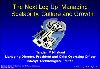 The Next Leg Up: Managing Scalability, Culture and Growth