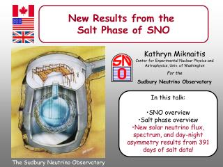 New Results from the  Salt Phase of SNO