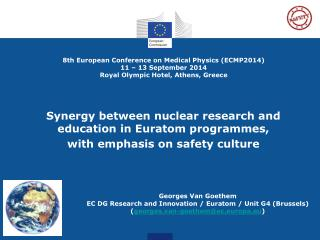 Synergy between nuclear research and education in  Euratom  programmes,