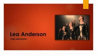 Lea Anderson