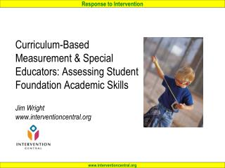 Curriculum-Based Measurement (CBM) for Special Educators: Workshop Agenda