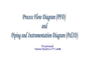 Process Flow Diagram (PFD)  and Piping and Instrumentation Diagram (P&ID)