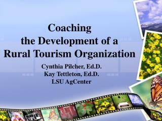 Coaching  the Development of a  Rural Tourism Organization