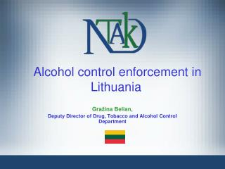 Alcohol control enforcement in Lithuania