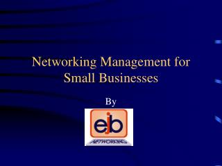 Networking Management for Small Businesses