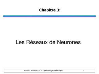 Chapitre  3:
