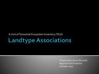 Landtype  Associations