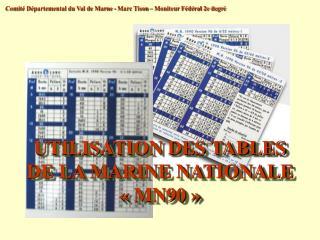 Comité Départemental du Val de Marne - Marc Tison – Moniteur Fédéral 2e degré