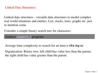 Linked Data Structures:
