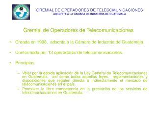 Gremial de Operadores de Telecomunicaciones