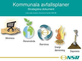 Kommunala avfallsplaner Strategiska dokument