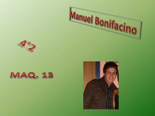 Manuel  Bonifacino