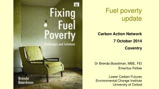 Fuel poverty  update