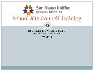 School Site Council Training