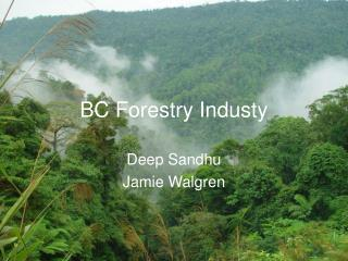 BC Forestry Industy