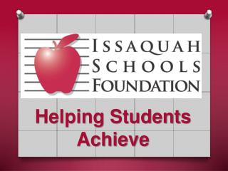 Helping Students Achieve