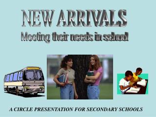 A CIRCLE PRESENTATION FOR SECONDARY SCHOOLS