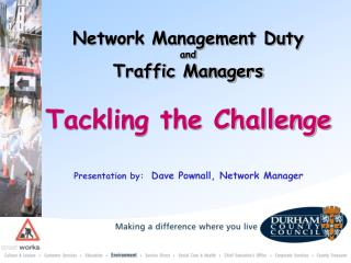 Tackling the Challenge