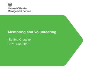 Mentoring and Volunteering