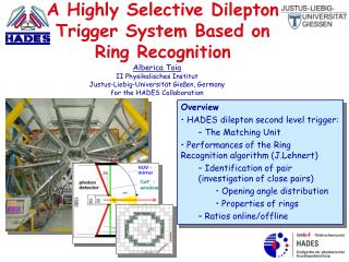 A Highly Selective Dilepton Trigger System Based on    Ring Recognition