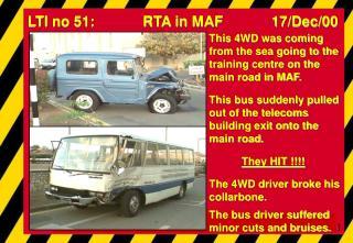 LTI no 51:            RTA in MAF            17/Dec/00