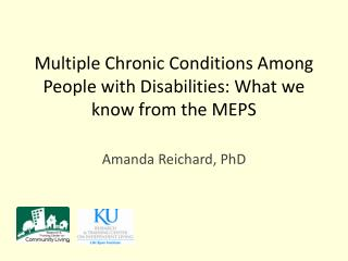Multiple Chronic Conditions Among People with Disabilities: What we know from the MEPS