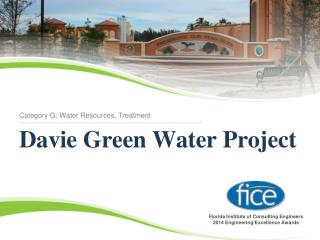 Davie Green Water Project