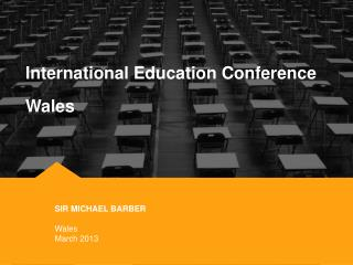 International Education Conference Wales