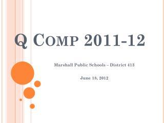 Q Comp  2011-12